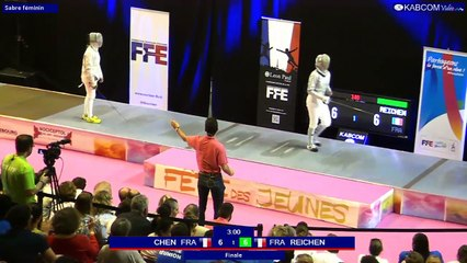 FDJ - Finale Sabre Femmes Stella Reichen vs Lisa Chen