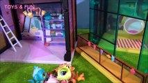 LPS Littlest Pet Shop Miniş oyuncak hikayesi Bölüm 3 Minişler acıkınca - LPS Toy Story Part 3