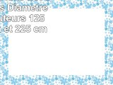 Luminara EXSL3 Lot de 3 bougies Diamètre 75 cm Hauteurs 125 cm 175 cm et 225 cm