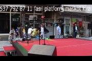 animasyonlarla platform sahne podyum kiralama masal doruk podyum sahne platform kiralama her yere platform kiralama