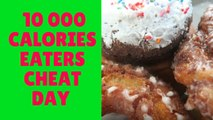 10,000 CALORIES A COMPETITIVE EATERS CHEAT DAY
