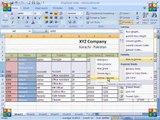 MS Excel 2007 Tutorial in Hindi   Home Tab Cells Block Insert,Delete,Format