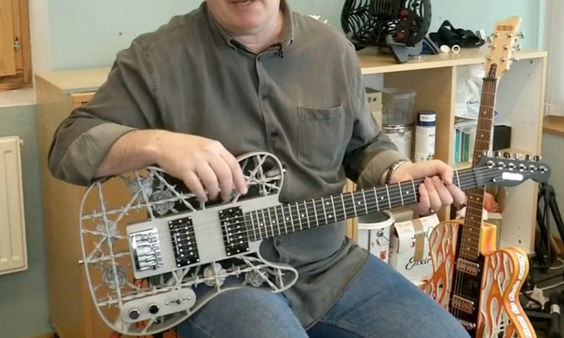 Ini Dia Gitar Heavy Metal Sesungguhnya