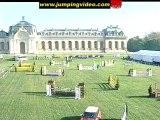 Cheval CSO jumping Chantilly