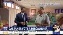 VIDÉO - Christophe Castaner a voté à Forcalquier