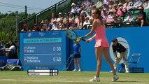 WTA Nottingham: Johanna Konta - Magdalena Rybarikova (Özet)