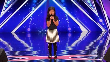 """Leak_ 9-Year-Old Celine Tam Stuns Crowd with """"My Heart Will Go On"""" - America's Got Talent 2017"""