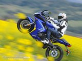 Bike Ride on one wheel, most dangerous stunts