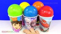 Des balles les meilleures tasses et et gelé bonjour Salut dans minou patrouille patte Princesse jouets Surprise disney elsa anna