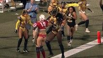 Lingerie Football League : elle met K.O. son adversaire après un touchdown