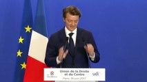 La réaction de François Baroin aux résultats des législatives 2017
