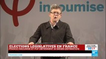 REPLAY - Législatives en France : Discours de Jean-Luc Mélenchon, chef de file de la France Insoumise