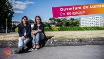 L'Avenir - Portrait Générations Solidaires : Ouverture de Lazare En Belgique