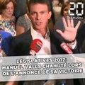 Législatives 2017: Manuel Valls chahuté à l'annonce de sa victoire