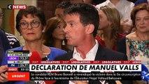 Regardez les images des incidents quand Manuel Valls prend la parole à la Mairie d'Evry sous les huées