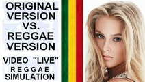 Original Version VS. Reggae Version (15 video demo -Part 1) by Ragga Elize