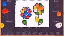 Por colores y me yo yo Niños Aprender número uno pintura parte televisión con 1