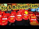 Pixar Cars Top 5 Lightning McQueen  Cars from our Car and Cars 2 Collection