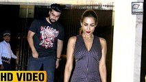 Malaika Arora And Arjun Kapoor Spotted Together At A Resturant Launch