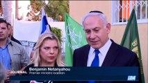 Attentat de Jérusalem: Benyamin Netanyahou demande l'arrêt du financement du terrorisme par l'Autorité palestinienne
