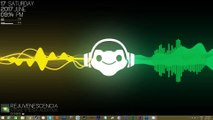 Overwatch Lucio Live Equalizer Music Rainmeter Skin Desktop