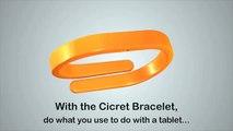 The Cicret Bracelet   Like a tablet, but asdon your skin