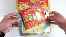 POKEMON POKEDEX IN REAL LIFE Toy Review - First Gen Pokedex By Tiger Electronics
