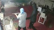 Homeowner Fends Off Armed Burglars With Machete