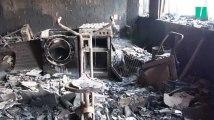 Les images glaçantes des dégâts causés par l'incendie de la Grenfell Tower
