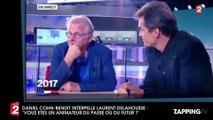 Laurent Delahousse : Daniel Cohn-Bendit l'interpelle en plein direct sur son avenir en tant que présentateur (Vidéo)
