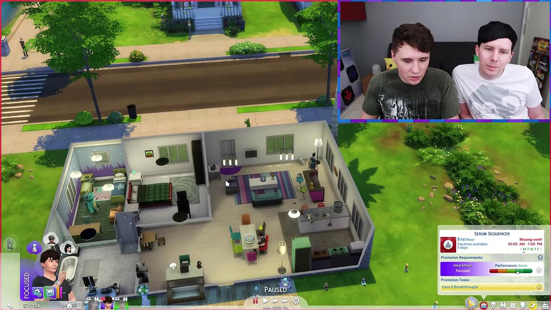 DIL GETS PREGNANT Dan and Phil Play: Sims 4 #41