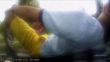 Un homme fait une tentative grotesque d'arnaque à l'assurance