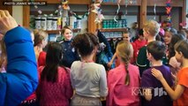 These 4th Graders Folded 1,000 Paper Cranes For Classmate Who Needed Brain Surgery