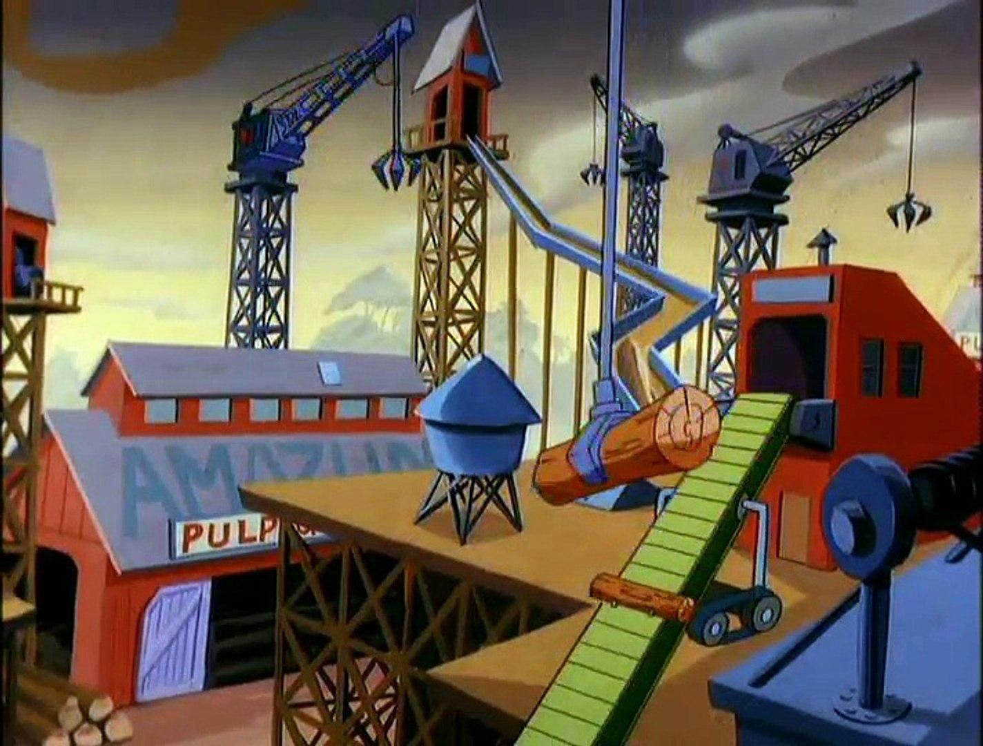Animaniacs - E 23 - Be Careful What You Eat - Up the Crazy River - Ta Da Dump, Ta Da Dump, Ta Da Dum