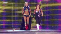 The Bella Twins vs. Maryse and Natalya