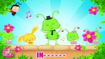 La fête des insectes - Comptines sur les petits animaux et les insectes - Titounis