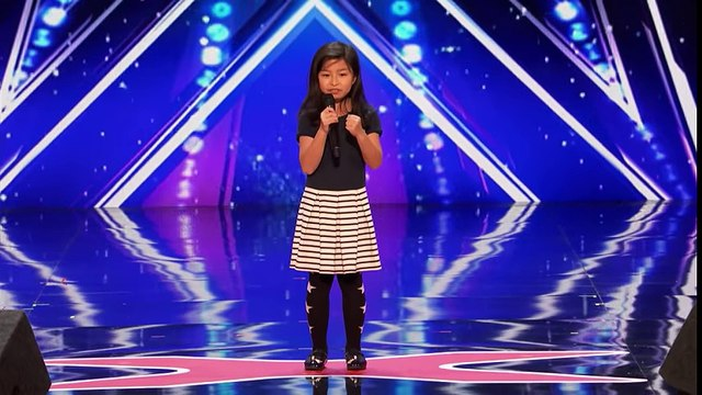 Celine Tam Stuns Crowd with 'My Heart Will Go On' - America's Got Talent 2017