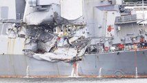 Questions remain after USS Fitzgerald collides with cargo ship