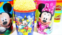 Mickey Mouse Foam Clay Surprise Ice Cream Cups Shopkins PAW Patrol Donald Duck Hello Kitty