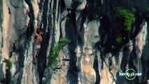 Rock climbing in Halong Bay, Vietnam - Lonely Planet travel