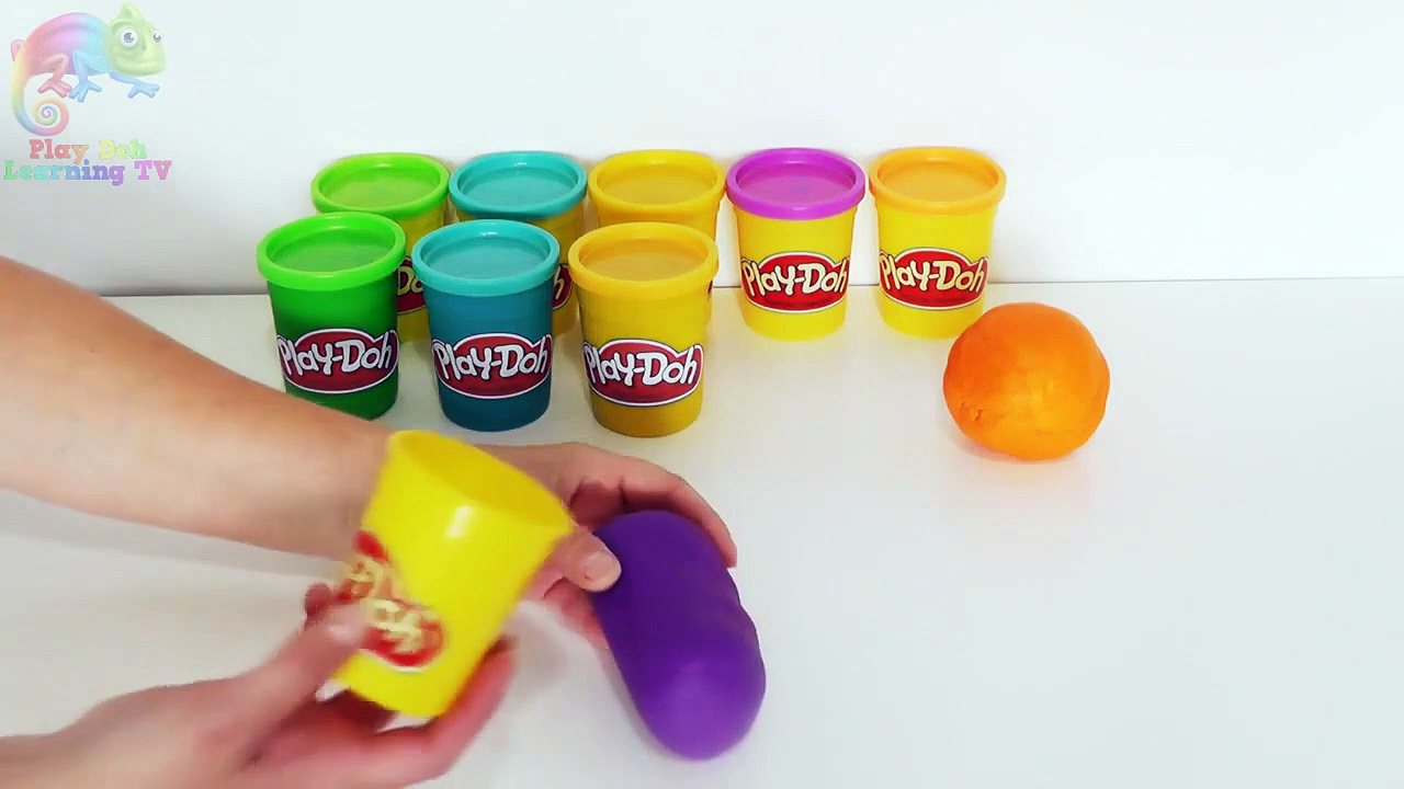 DIY _ How To Make Play Doh Tubs _ Creative Crafts For Kids _ Pl