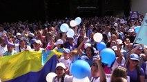 Funcionarios de Fiscalía venezolana protestan en apoyo a su jefa