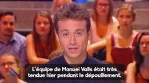 Quotidien : quand les proches de Manuel Valls refusent qu'un journaliste assiste au dépouillement (vidéo)