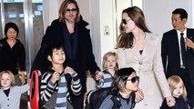 Brad Pitt Heart broken As Angelina Jolie kept his kids away on father's day