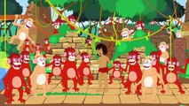 Le Livre de la jungle _ 1 Conte   4 comptines et chansons  _ dessins animés en f