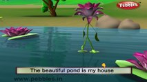 Lotus | 3D animated nursery rhymes for kids with lyrics  | popular Flower rhyme for kids | Lotus song  | Flower songs | Funny rhymes for kids | cartoon  | 3D animation | Top rhymes of Flowers for children