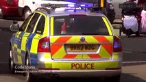 24.Police Cars for Children - British Police Cars Race Through London!_clip3