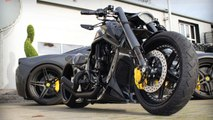 Harley Davidson V Rod -Al Carbon- by No Limit Custom - Motorcycle Muscle Custom