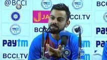 Virat Takes Class Of Indian Journalist...