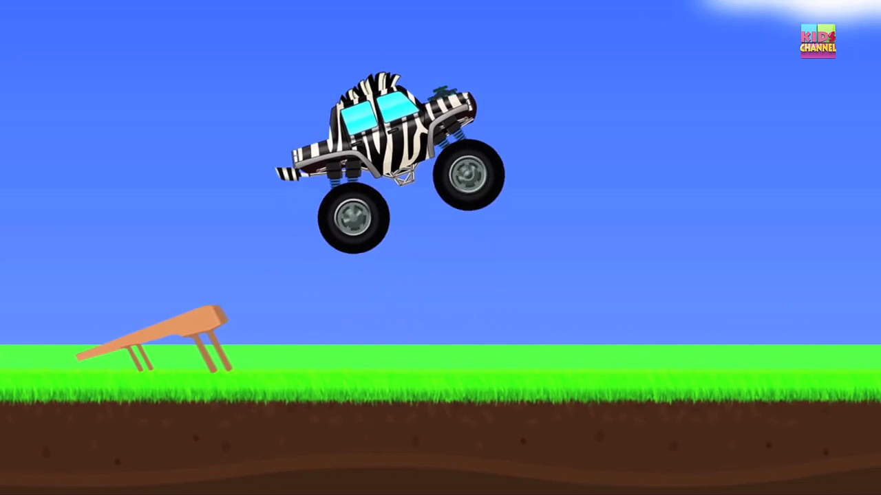 Monster Trucks _ Zebra Trucks _ Car And Truck-FlkjYs_j